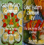 Gout Hater's Cookbooks I and IV